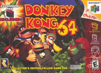 DONKEY KONG 64 - Video Game Delivery