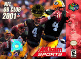 NFL QB CLUB 2001 - Video Game Delivery