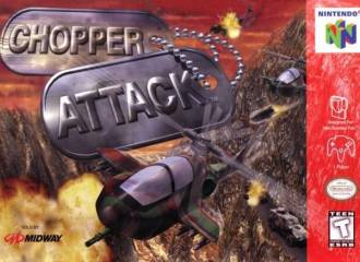 CHOPPER ATTACK - Video Game Delivery