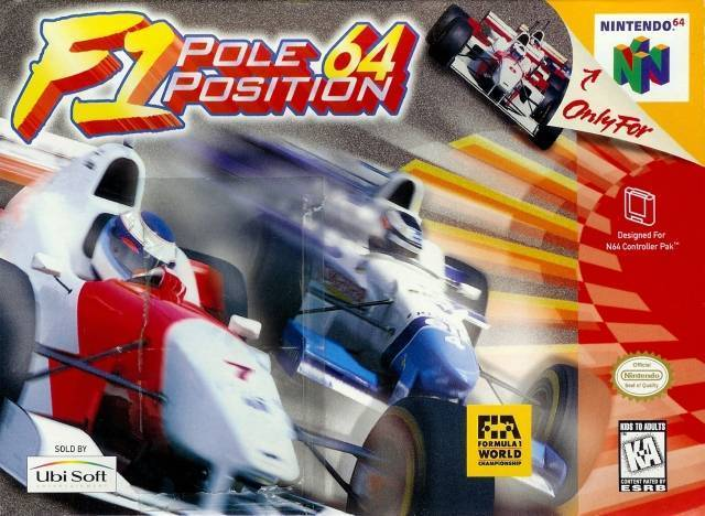 F-1 POLE POSITION 64 - Video Game Delivery