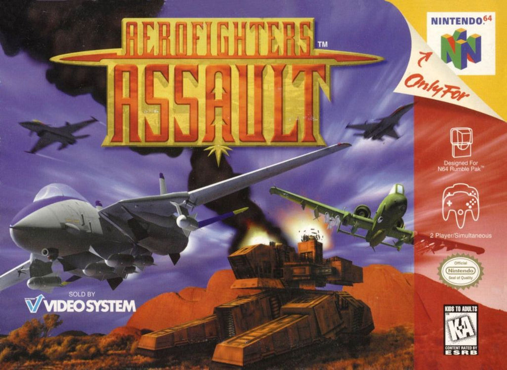 AEROFIGHTERS ASSAULT - Video Game Delivery