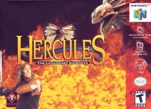 HERCULES: THE LEGENDARY JOURNEYS - Video Game Delivery