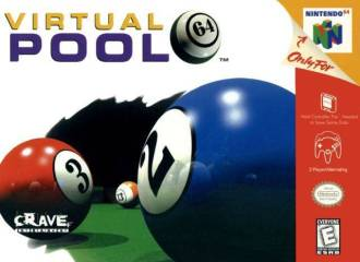 VIRTUAL POOL 64 - Video Game Delivery