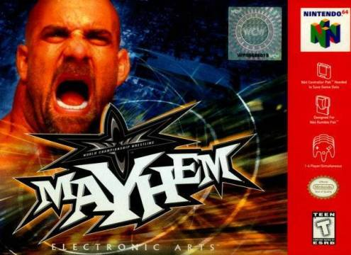 WCW MAYHEM - Video Game Delivery