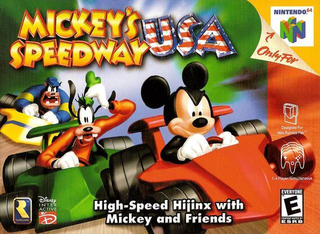MICKEY'S SPEEDWAY USA - Video Game Delivery