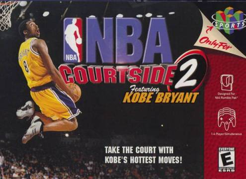 KOBE BRYANT IN NBA COURTSIDE 2 - Video Game Delivery