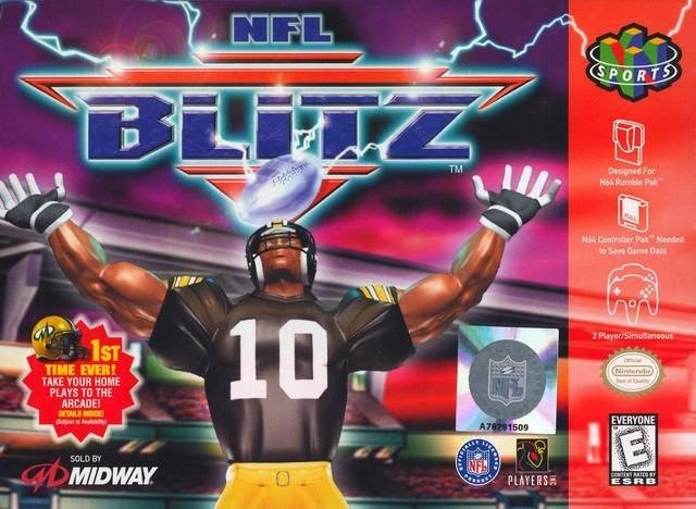 NFL BLITZ - Video Game Delivery