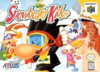 SNOWBOARD KIDS - Video Game Delivery