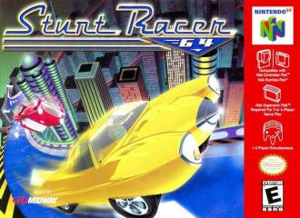 STUNT RACER 64 - Video Game Delivery