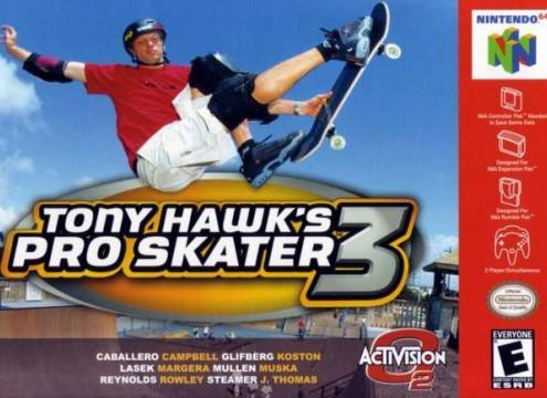 TONY HAWK'S PRO SKATER 3 - Video Game Delivery