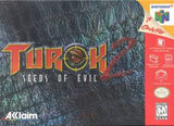 TUROK 2: SEEDS OF EVIL - Video Game Delivery