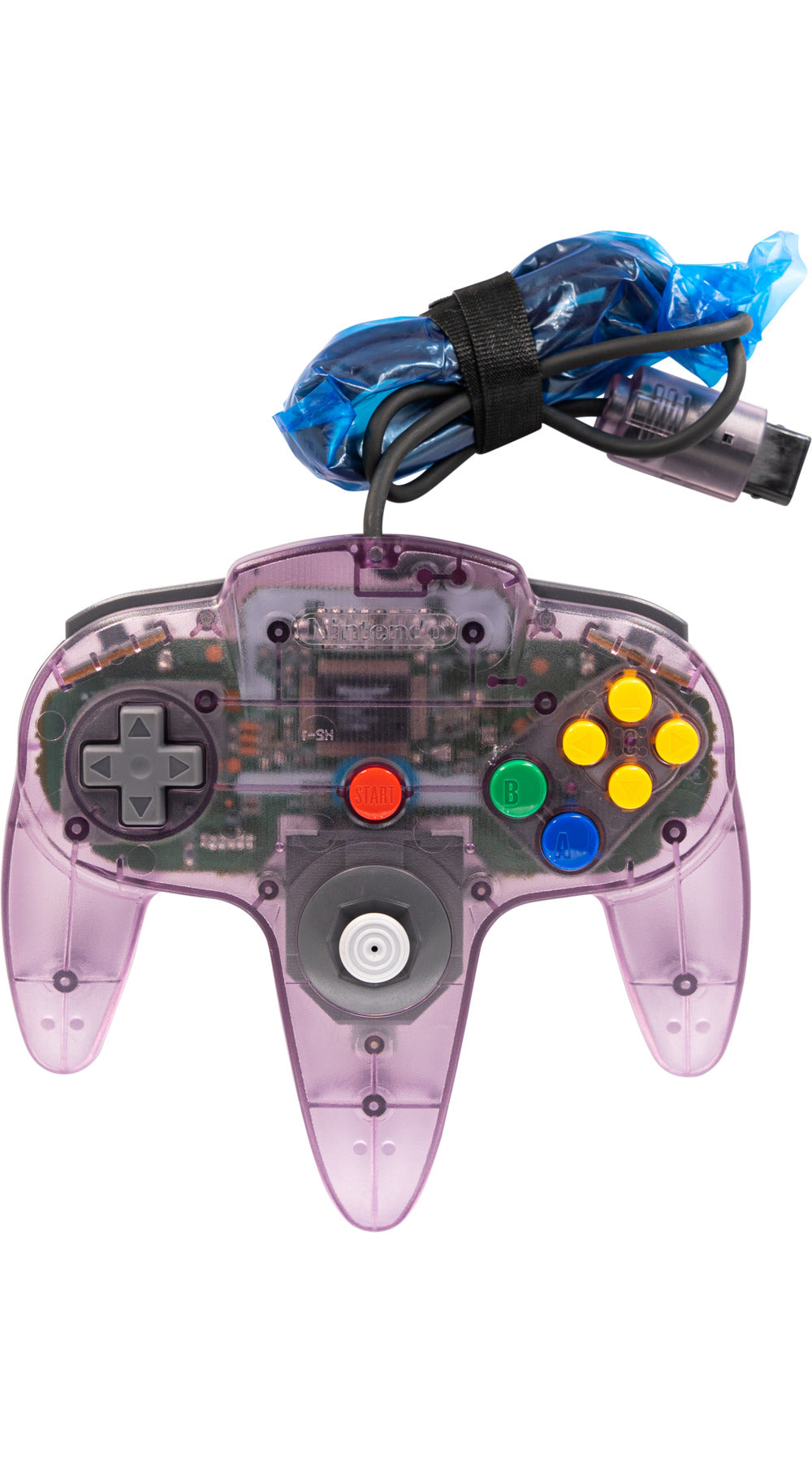 Nintendo N64 Controller Original Atomic Purple - Video Game Delivery