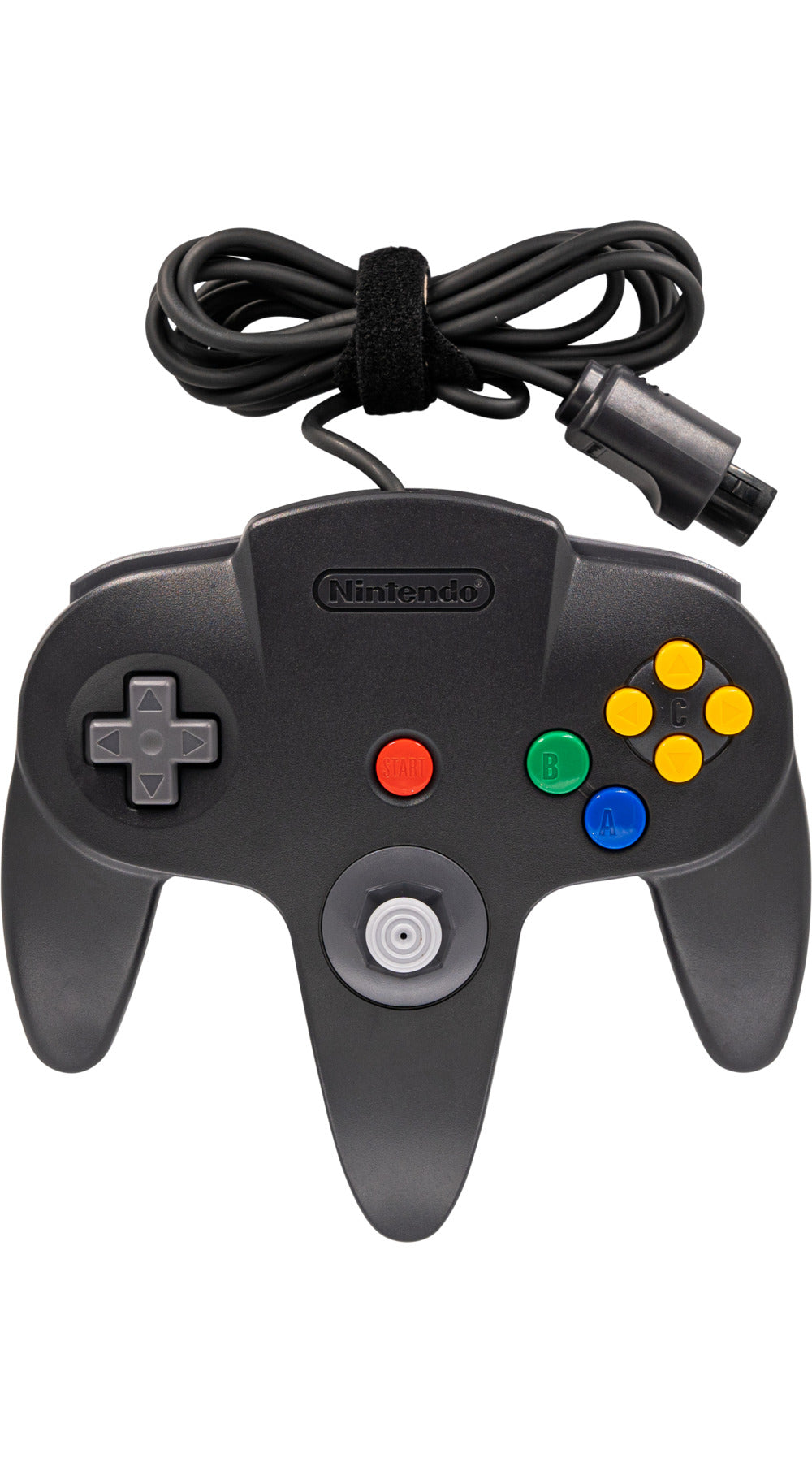 Nintendo N64 Controller Original Black - Video Game Delivery