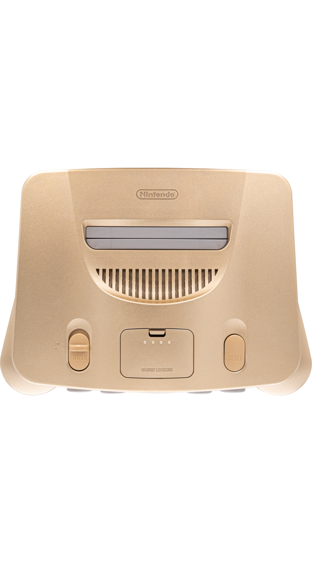 Nintendo 64 Gold Console - Video Game Delivery