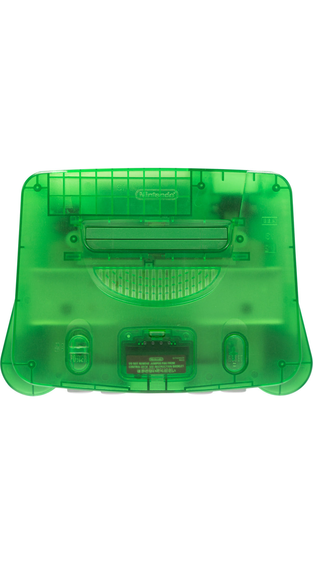 Nintendo 64 Funtastic Jungle Green Console - Video Game Delivery