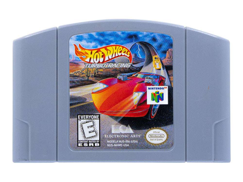 HOT WHEELS TURBO RACING - Video Game Delivery