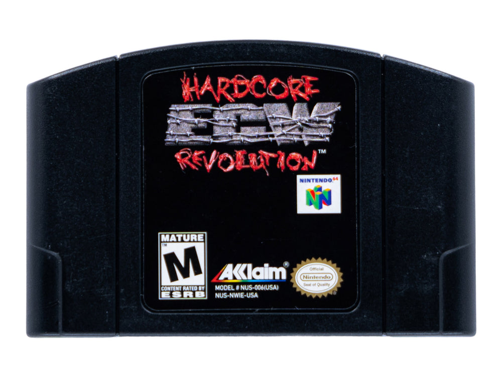 ECW HARDCORE REVOLUTION - Video Game Delivery