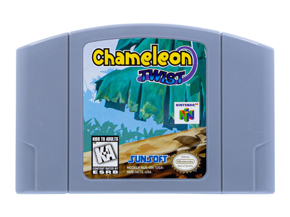 CHAMELEON TWIST - Video Game Delivery