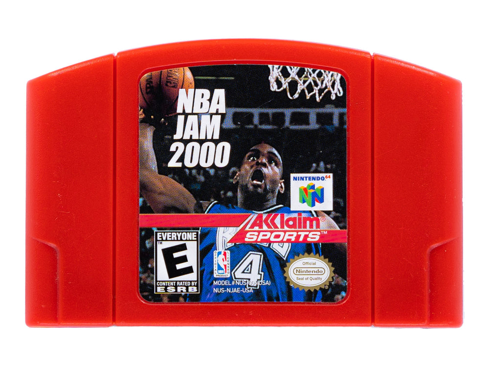 NBA JAM 2000 - Video Game Delivery