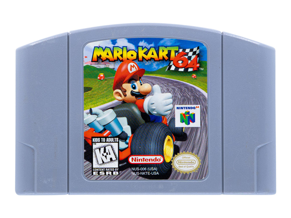 Mario Kart 64 Video Game Delivery