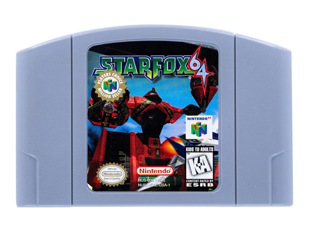 STAR FOX 64 - Video Game Delivery