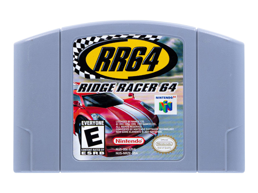 RIDGE RACER 64 - Video Game Delivery