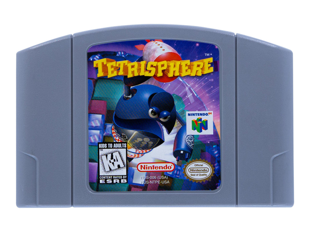 TETRISPHERE - Video Game Delivery