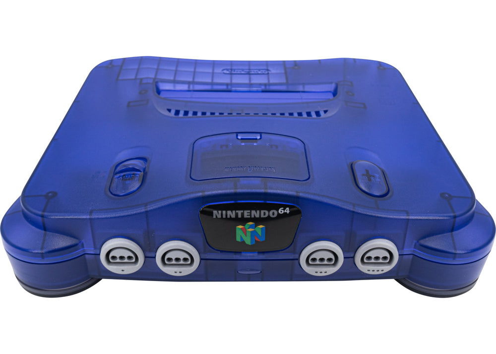 Nintendo 64 Funtastic Grape Purple Console - Video Game Delivery