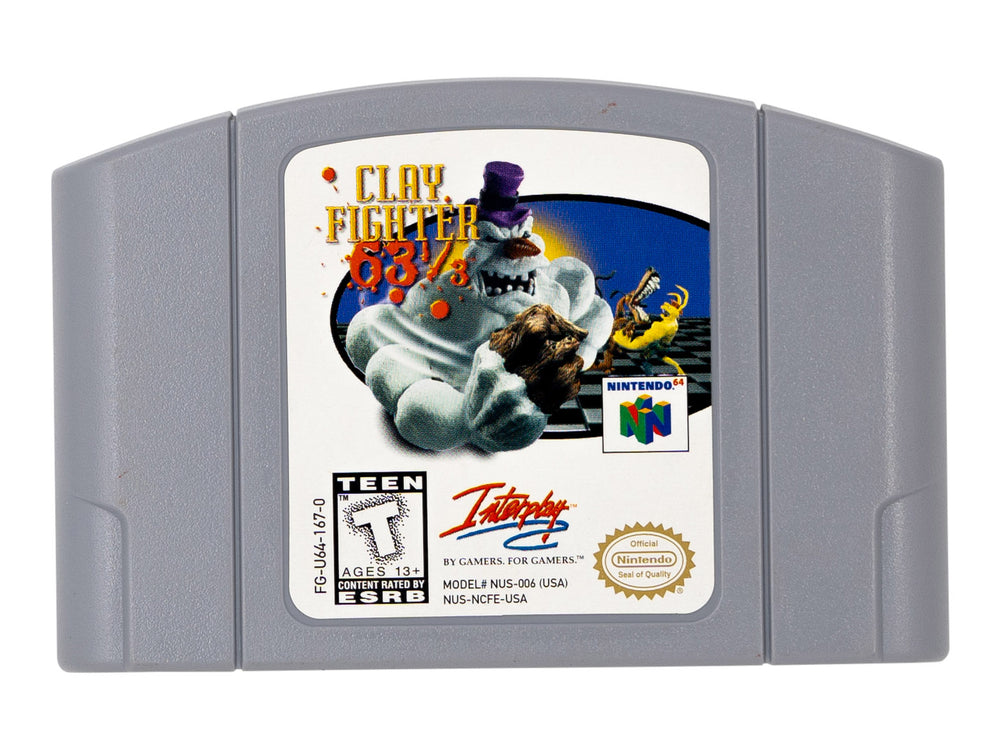 CLAY FIGHTER 63 1/3 - Video Game Delivery