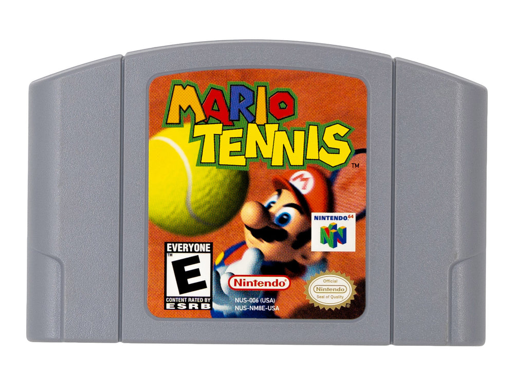 MARIO TENNIS 64 - Video Game Delivery