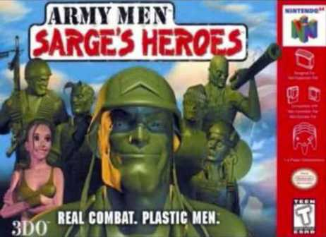 ARMY MEN: SARGE'S HEROES - Video Game Delivery