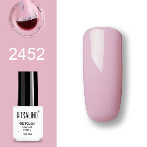 Vernis semi-permanent rose (2452)