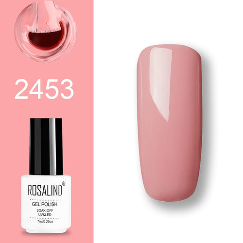 Vernis semi-permanent rose (2453)