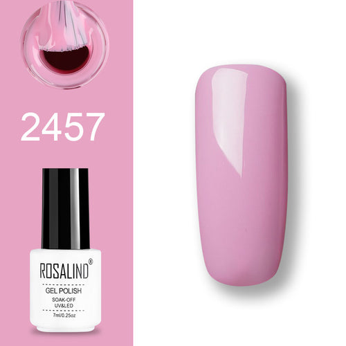 Vernis semi-permanent rose (2457)