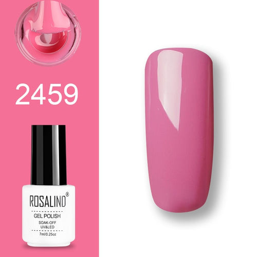 Vernis semi-permanent rose (2459)