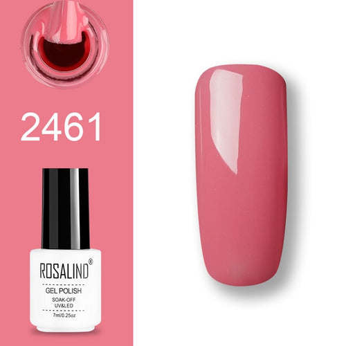 Vernis semi-permanent rose (2461)