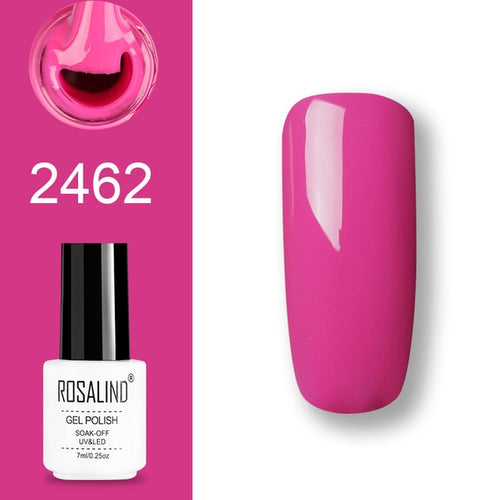 Vernis semi-permanent rose (2462)