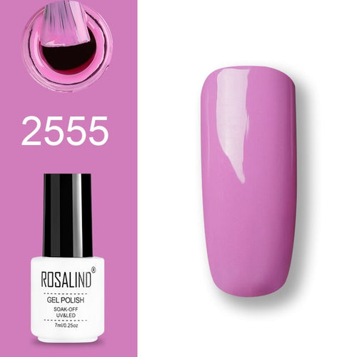 Vernis semi-permanent rose (2555)