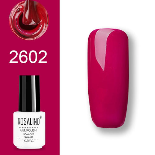 Vernis semi-permanent rose (2602)