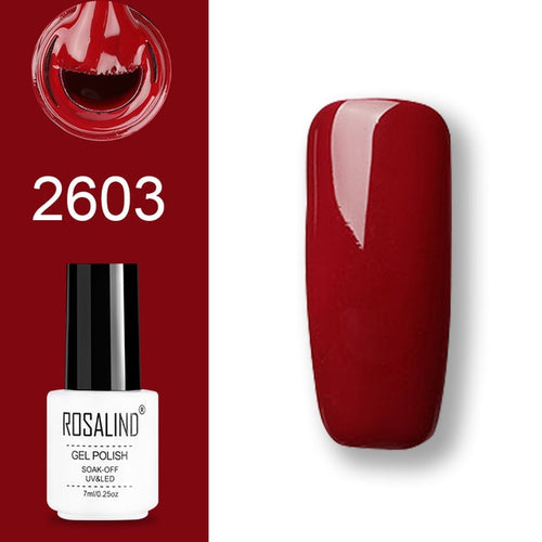 Vernis semi-permanent rouge (2603)