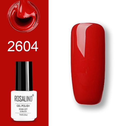 Vernis semi-permanent rouge (2604)