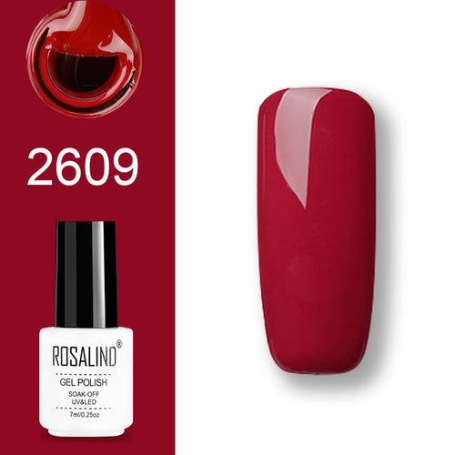 Vernis semi-permanent rouge (2609)