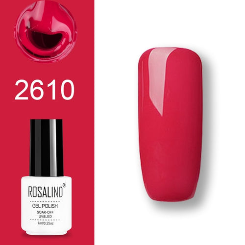 Vernis semi-permanent rose (2610)