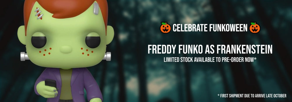 Franken Freddy Funko Pop! Vinyl available to pre-order now