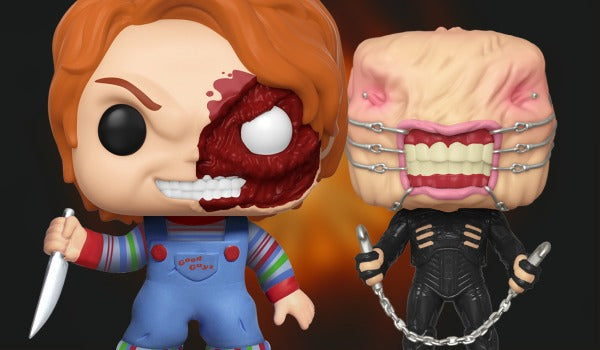 Browse the Horror Funko collection. Chucky and Chatterer available now!