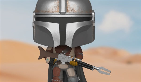 Disney's smash-hit show The Mandalorian comes to Funko!