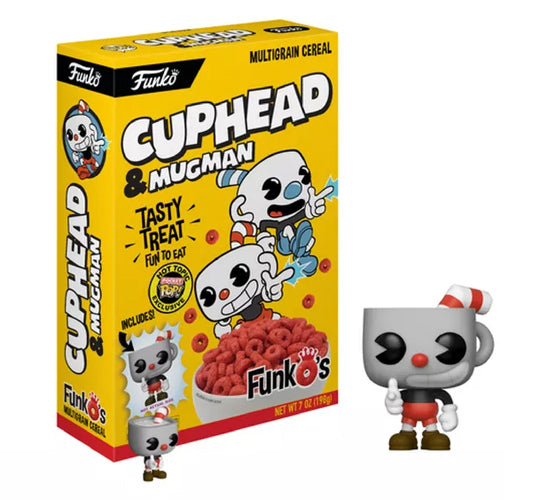 FunkO's - Cuphead and Mugman (Hot Topic Exclusive) Cereal