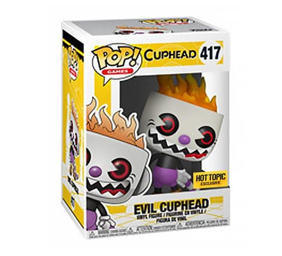 Cuphead - Evil Cuphead #417 (Hot Topic) Funko Pop! Vinyl