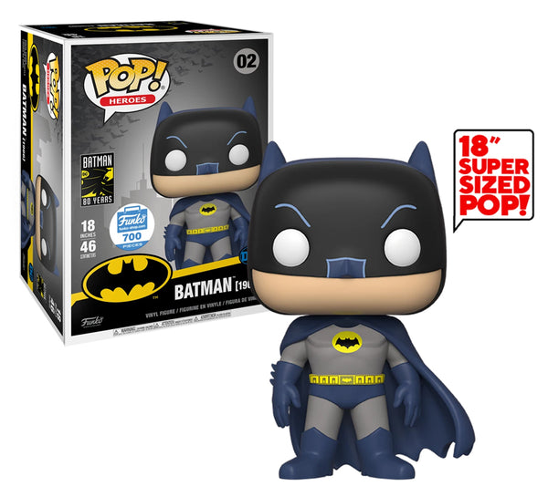 "Pop! Heroes - 18"" Inch Batman 1966 #02 (Funko Shop Exclusive, Limited to 700 Pieces) Funko Pop! Vinyl"