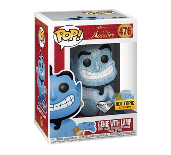 Disney's Aladdin - Diamond Collection Genie #476 (Hot Topic) Funko Pop! Vinyl